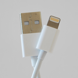 4inch MFi Certified Lightning to USB Cable